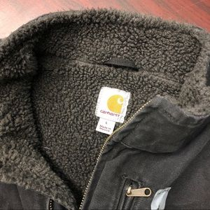 Carhartt Jackets & Coats - Carhartt Mock Neck Sherpa Lined Vest (PM255)